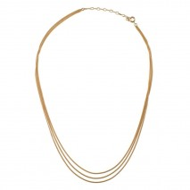 Collier 3 rangs Or