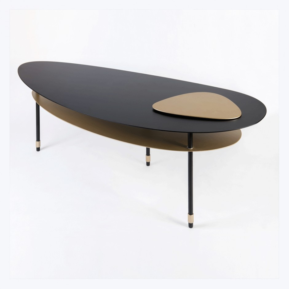 Table basse 'Double Galet'