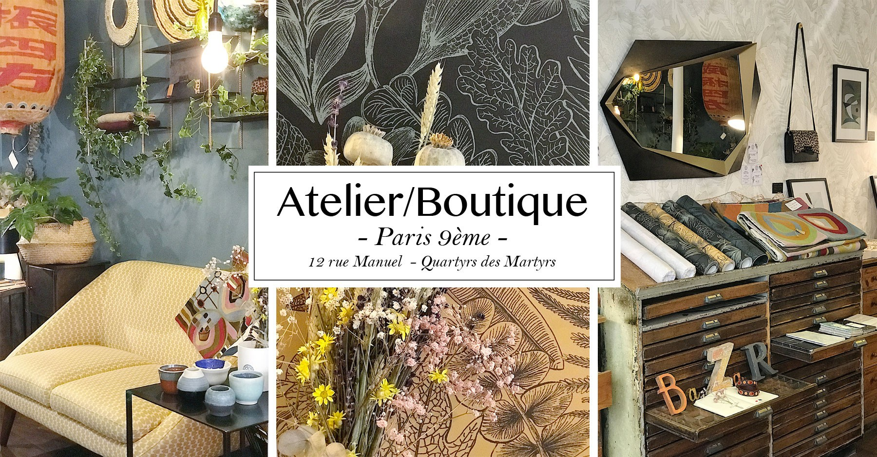 Atelier Boutique Le Bazar Exquis Paris 9